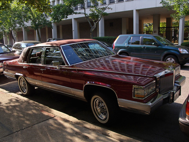 1990 cadillac fleetwood brougham. Cars Review. Best American Auto & Cars Review