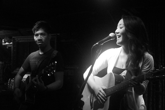 Kristie Yung with Jon Wu | The Cellar