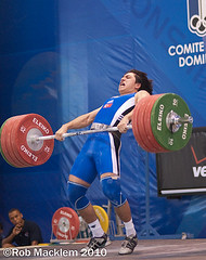 Sagir Taner TUR 77kg  2006 world Weightlifting championship