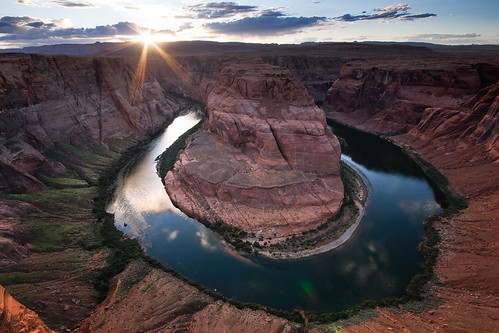Horseshoe bend - sunset