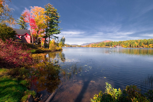 Lake Placid Shore (Fall)