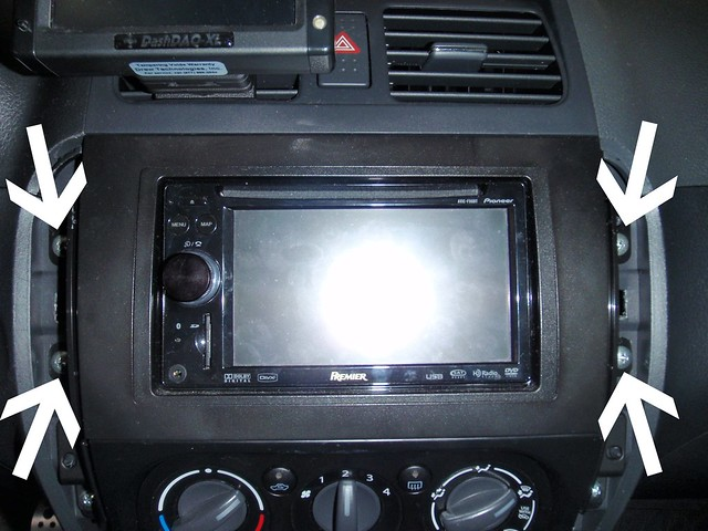 How To Remove Dash Top Piece