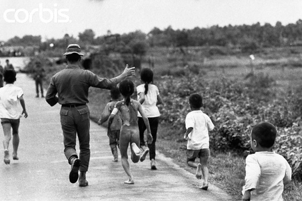 08 Jun 1972, Trang Bang, South Vietnam --- Children Running from Village - a photo on Flickriver