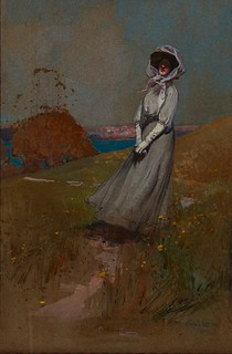 Harbourside Figure (1909)