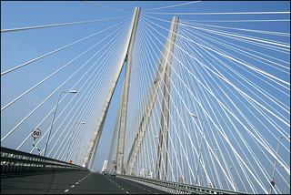 Bandra Worli Sea Link Bridge