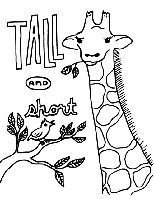 HD Wallpapers Coloring Pages For Opposites Preschool 3android8wallgq