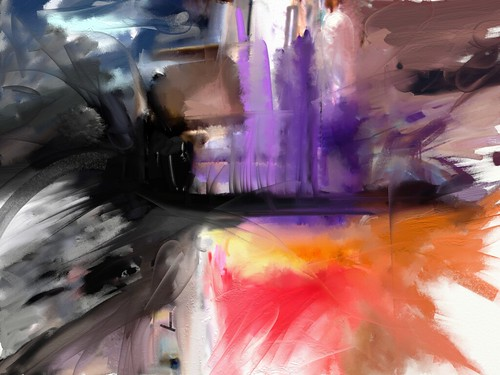 Ipad Abstract Art