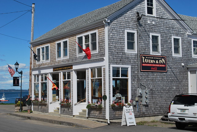 Waterstreet Tavern Lubec Maine