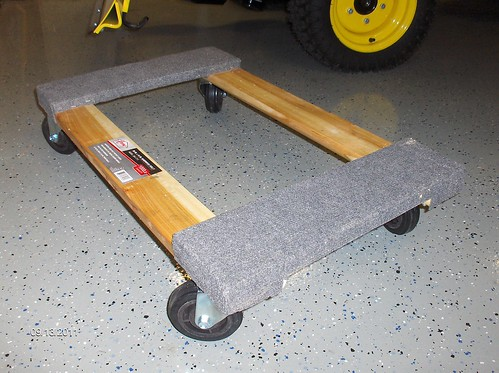"""Dolly for 54"""" blade Lawn Mower Forums Lawnmower"""