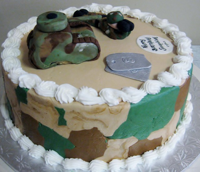 free birthday cakes for soldiers