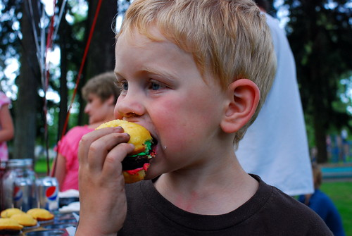 burgercakes are a hit!