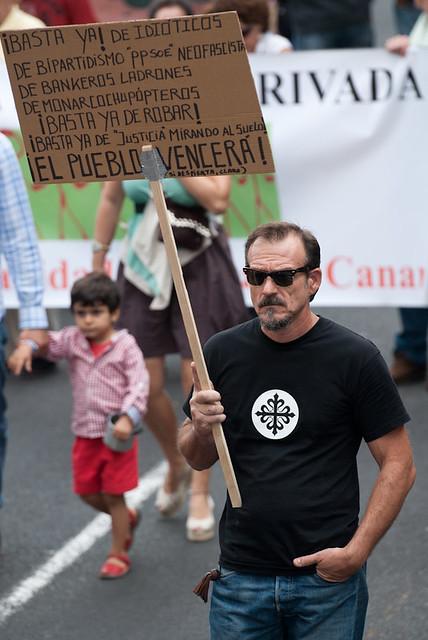 Manifestación A por ellos. Tenerife-4