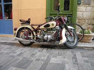 1951 BMW R67 Motorcycle