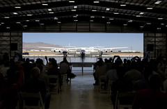 THE SPACESHIP COMPANY-  DEDICATION OF NEW HANGAR. Photo by Mark Greenberg