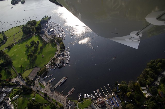 Bowness from the air