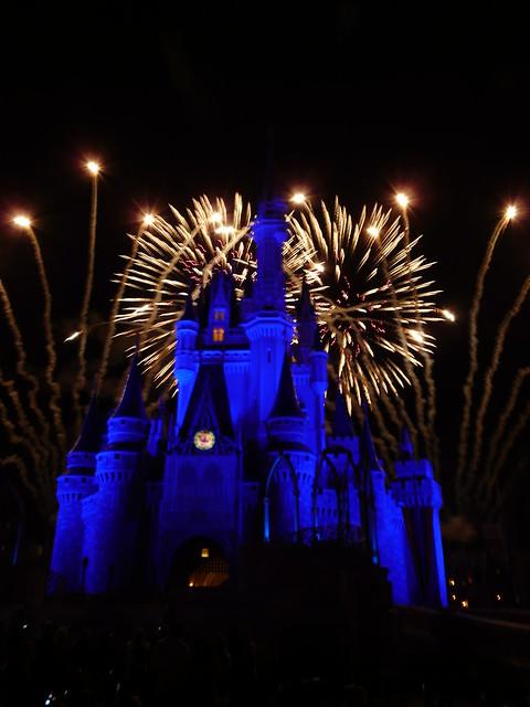 Cinderella's Castle - Wishes Fireworks