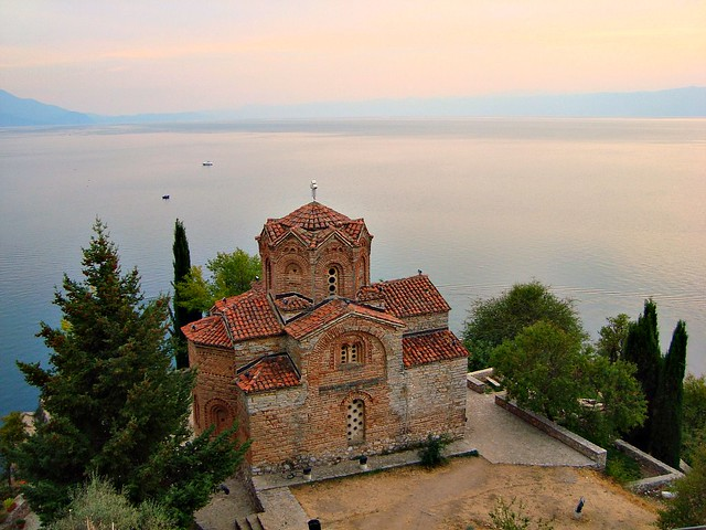 Church of St. John at Kaneo, Ohrid, Macedonia