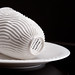 reaction cup and plate - porcelain by nervous system