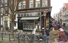 F. G. Lebbing Comestibles Fijne Vleeschwaren, Prinsengracht 805-807 en Nieuwe Spiegelstraat 76, Amsterdam