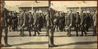 Staff Cadets at the Royal Military College being presented to H.R.H. [The Prince of Wales, Duntroon, 21 June 1920]