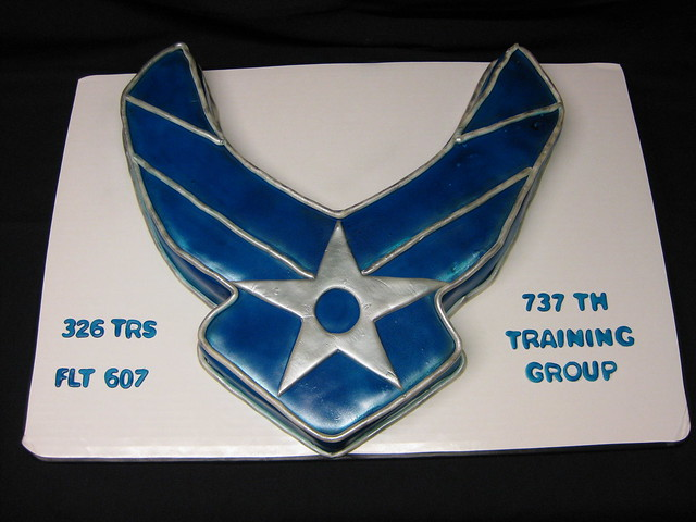 U s air force cake flickr photo sharing for Air force cakes decoration