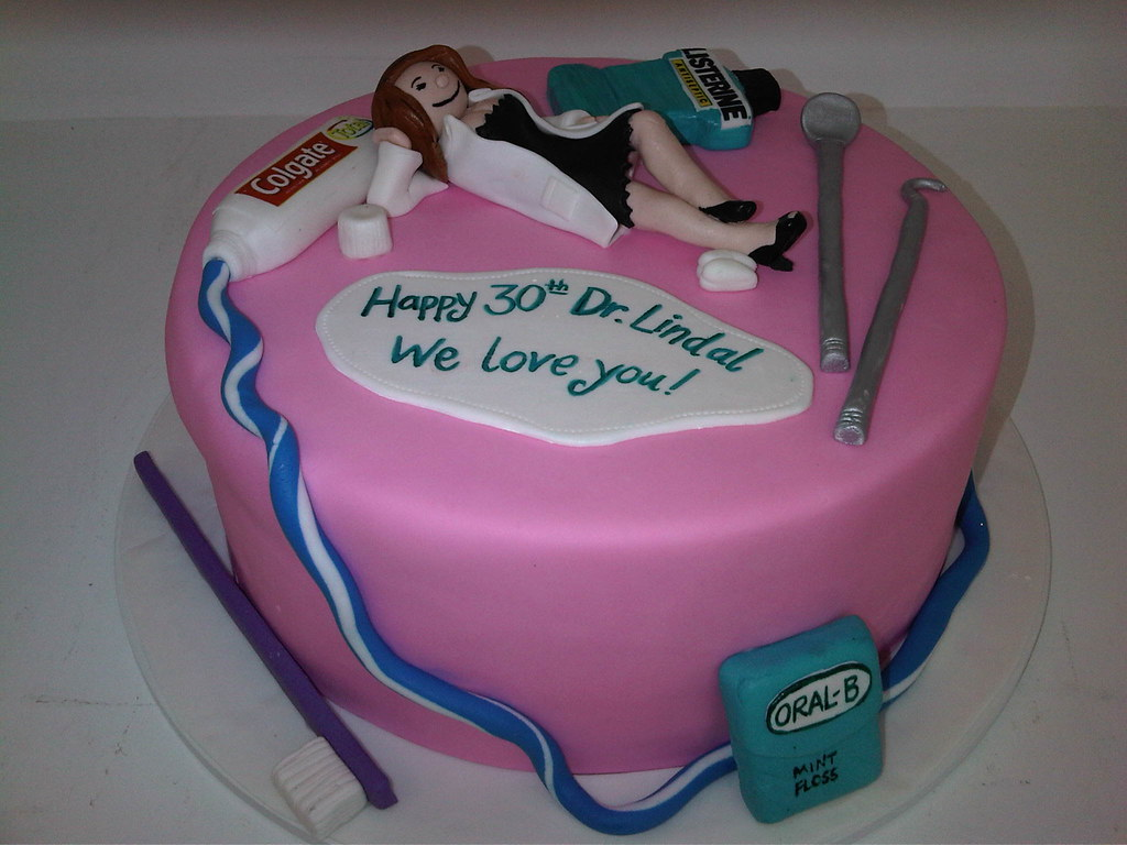 Dentist Birthday Cake 699