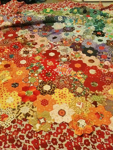 Hexagon Patchwork Quilt