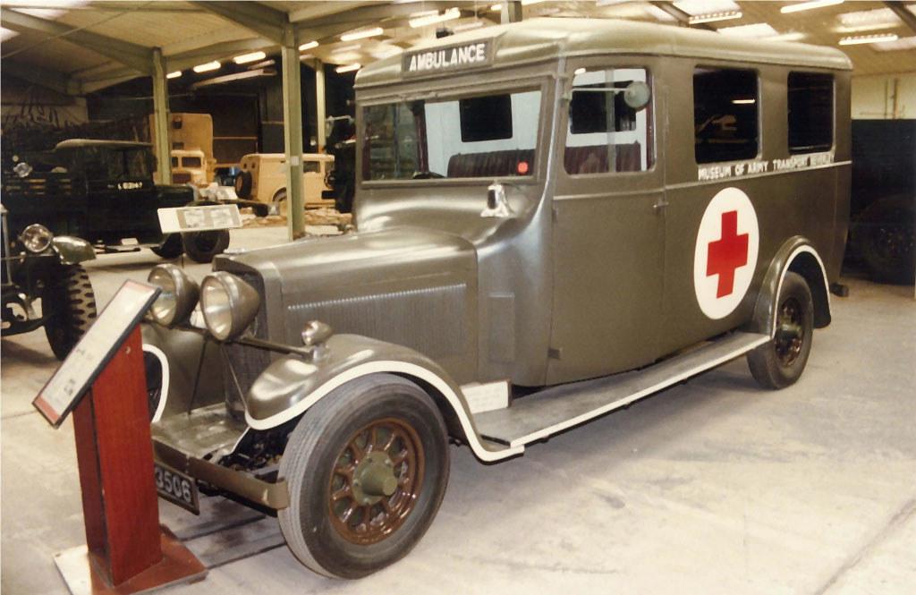 Talbot Ambulance EG3506