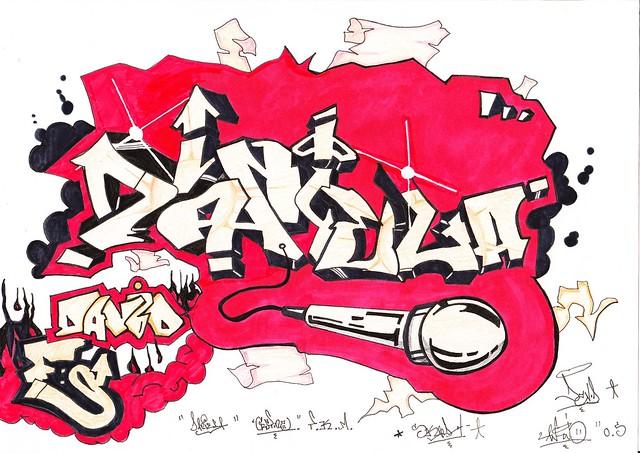 Daniela graffitis - Imagui