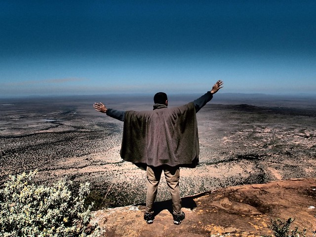 Plateau overlooking Samara Game Reserve - South Africa Eastern Cape