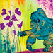 Gorilla Color Wash Wall Art NI3649
