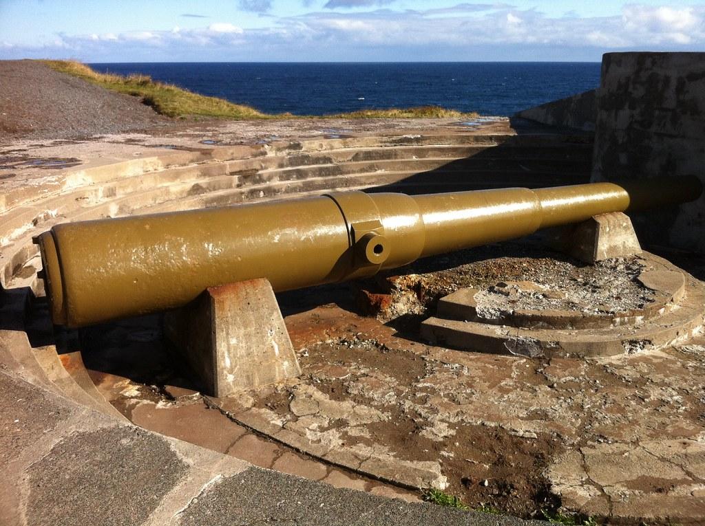 Battery gun, Cape Spear
