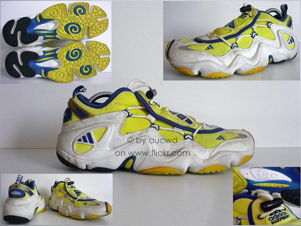 reputable site a1409 f3876 ... 90`S VINTAGE ADIDAS EQUIPMENT VAPOR SHOES (FEET YOU WEAR)  by aucwd