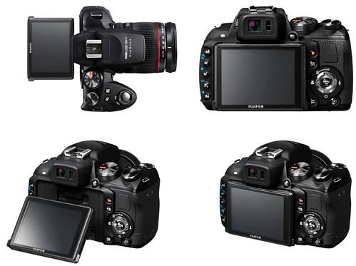 Fujifilm HS20EXR – Tilting LCD