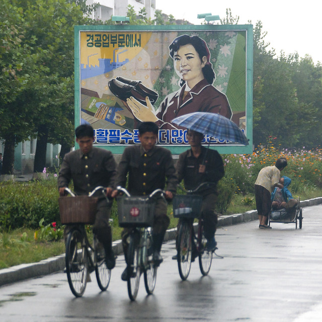 Hamhung soldiers - North Korea