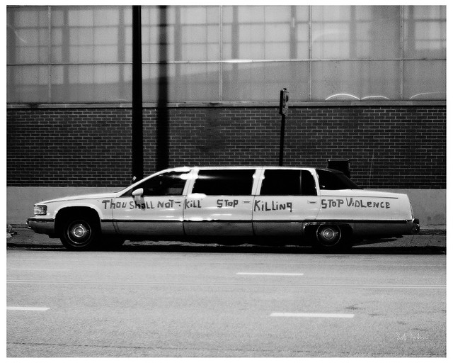 Thou Shall Not Kill - Stop Killing - Stop Violence - Limousine