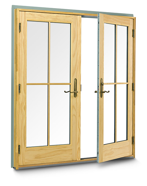 400 series frenchwood hinged inswing patio door flickr for Andersen french doors