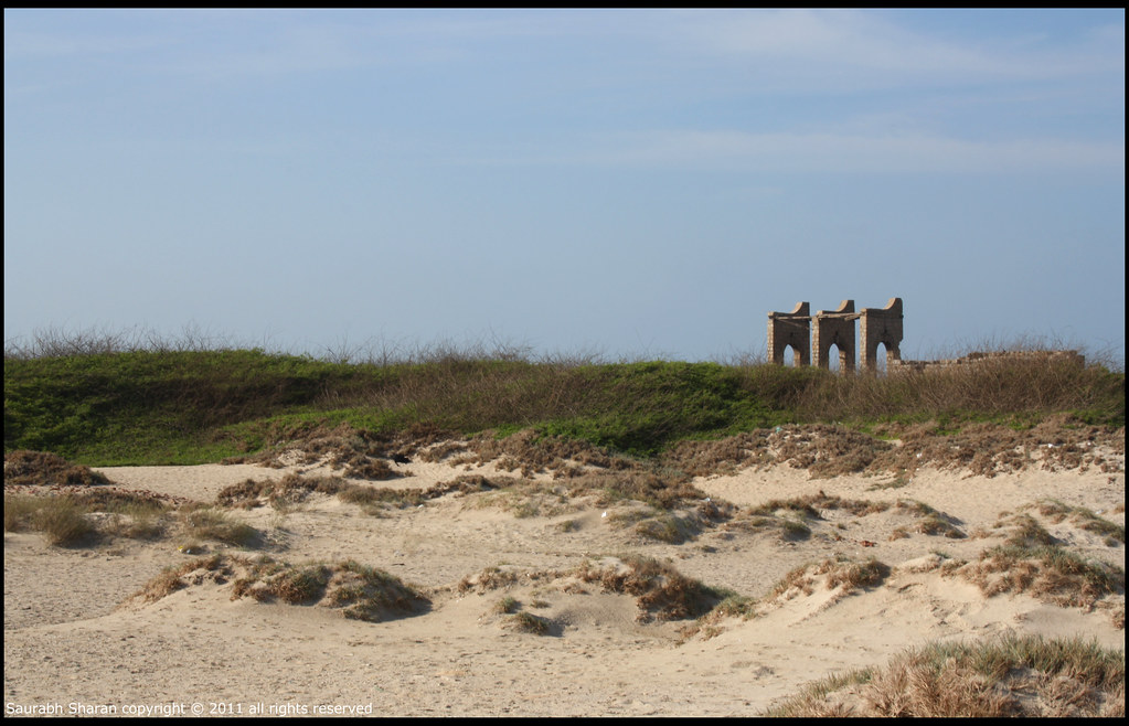 Remnants of the Dhanushkodi Railway Station