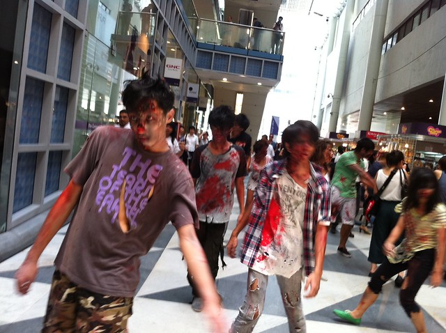 Zombies' at Raffles Place, Oct 14 | Flickr - Photo Sharing!