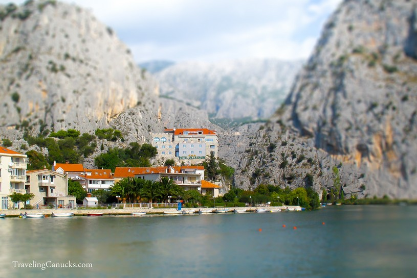 Omis Croatia Miniature