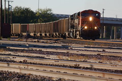 Westbound empty coal train, Wichita Falls TX