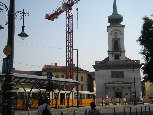 Obras de la línea 4 del metro de Budapest