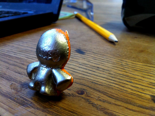 collectible #1 - pewter and sugru