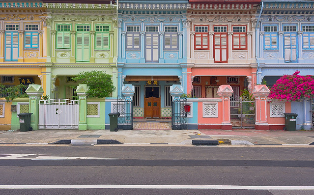 Peranakan houses flickr photo sharing for Terrace house singapore