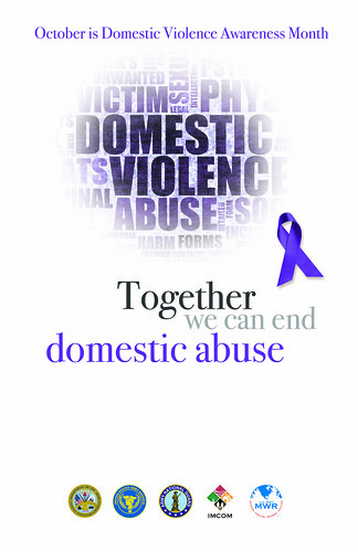 Poster - Domestic Violence Awarness Month