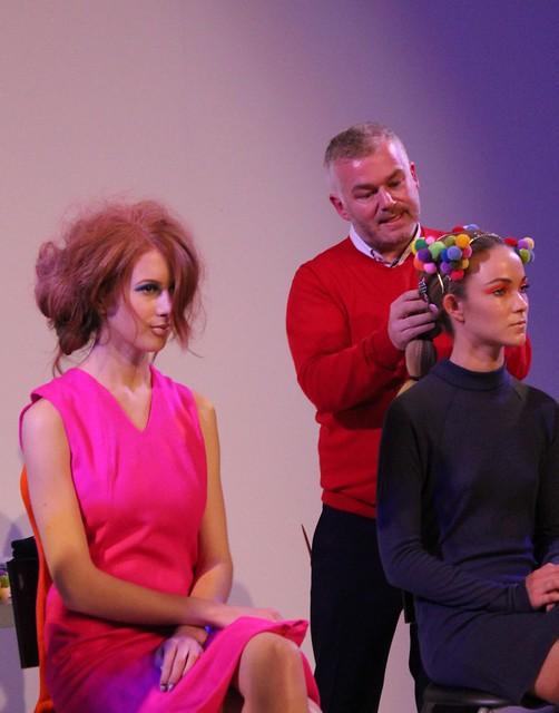 Adam Reed hair styling presentation