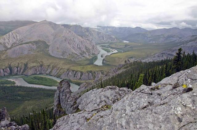 Hart River landscape