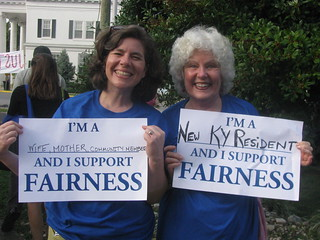 Bereans for Fairness rally