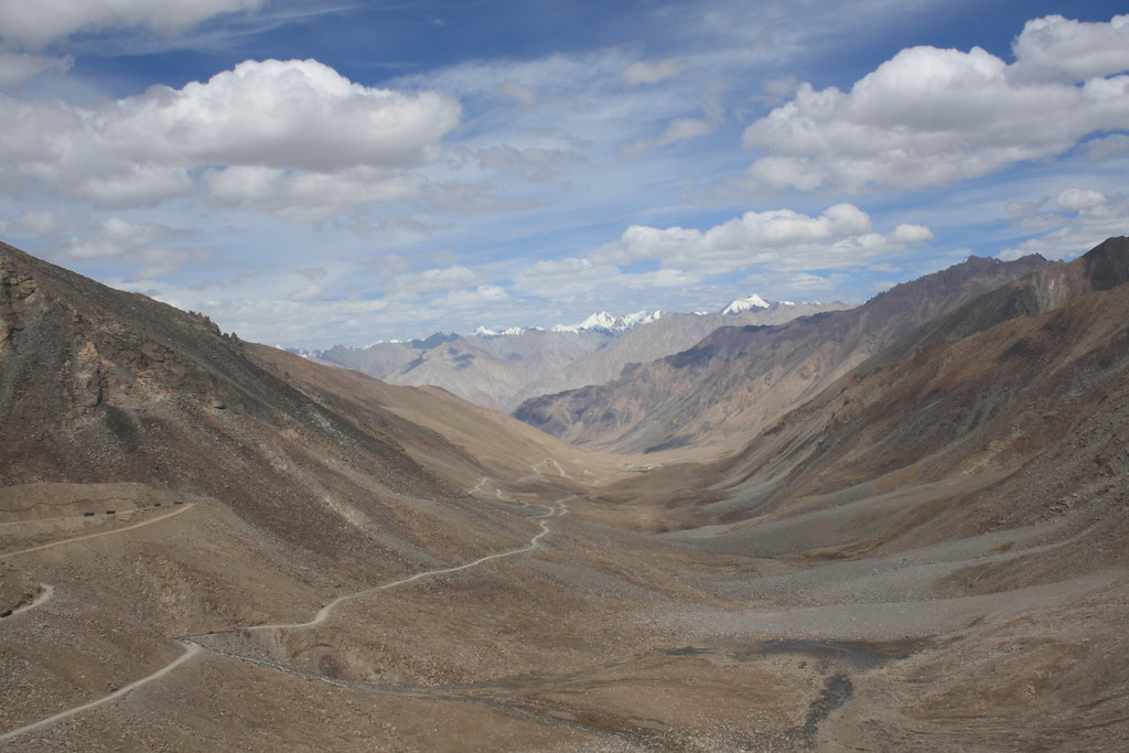The other side of Khardung la