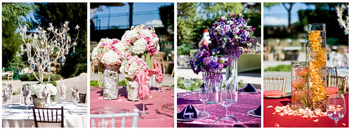 pink wedding red orange white four design colorful purple display decoration winery tables centerpiece setting showcase temecula southcoastwinery nikkor50mmf18d nikond80